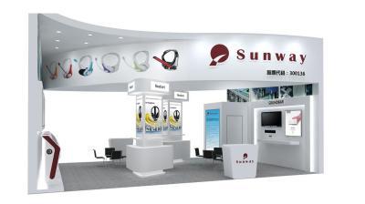 Sunway展台 香港电子展