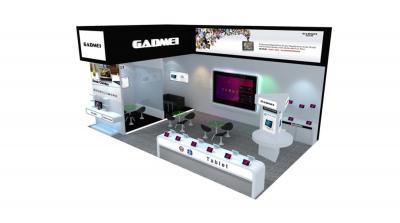 GADMEI展台  香港电子展