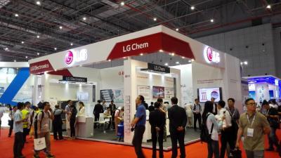 LG展台 香港电子展