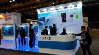 DNAKE 展台 香港电子展