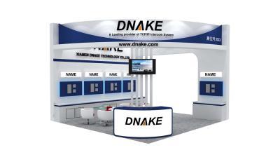 DNAKE展台  香港电子展