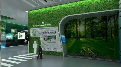 城市生态馆展厅