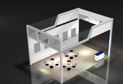 能吸引观众的注意力的展台设计才是真实力-深圳展台搭建