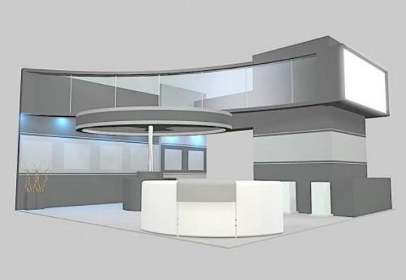 深圳展台搭建:展台设计就是要展现企业的形象