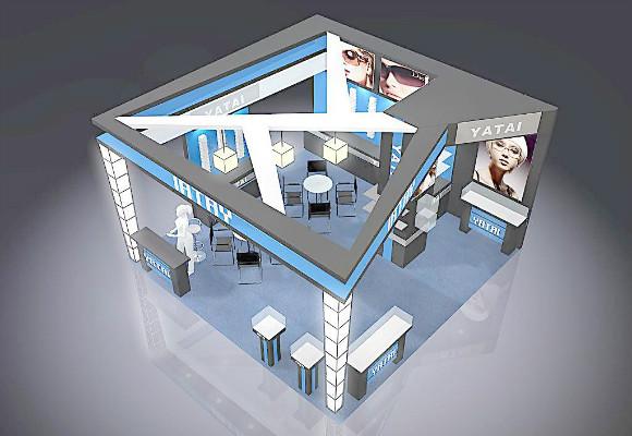 深圳展会设计:展台的大小、设计、外观必须尽善尽美