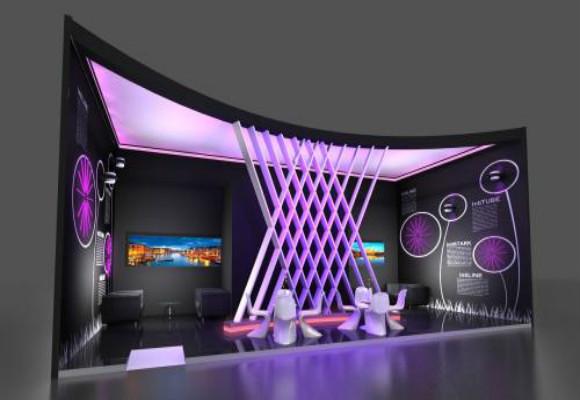 展会展台设计的几个风格点-深圳展会设计