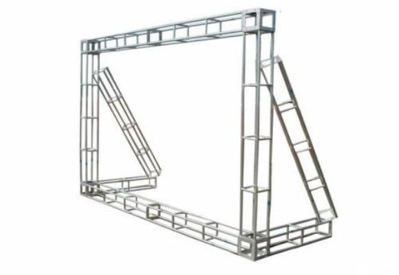 桁架搭建知识点:铝合金灯光架搭建舞台展位的方法步骤
