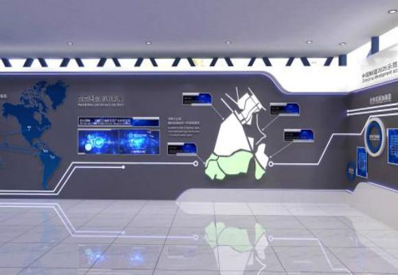 多样式展厅设计不一样的设计风格都是需要合理的布局