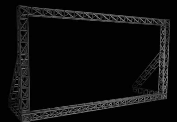 桁架与网架的区别是什么?桁架搭建厂家分享