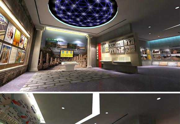 展厅设计对观众应具有很强的视觉吸引力,工作步骤怎么做