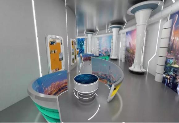 深圳展厅设计对应色彩的应用