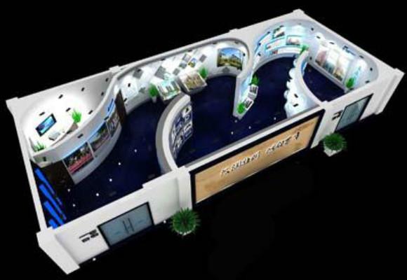 深圳展厅设计如何出色的提高参展企业公司形象