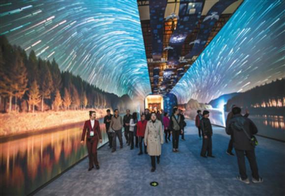"""深圳展厅设计关注:""""伟大的变革""""大型展览迎来寒假参观"""