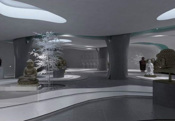 企业展厅力求表现的是企业的整体形象-深圳展厅设计