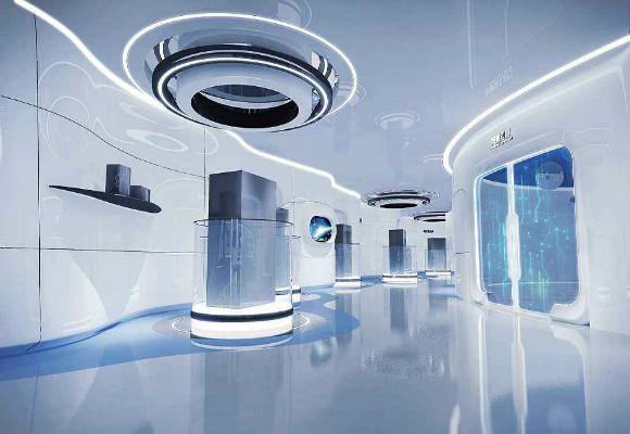 深圳展厅设计要有醒目标志,要从目标观众的角度做设计