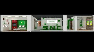 联域光电展厅设计