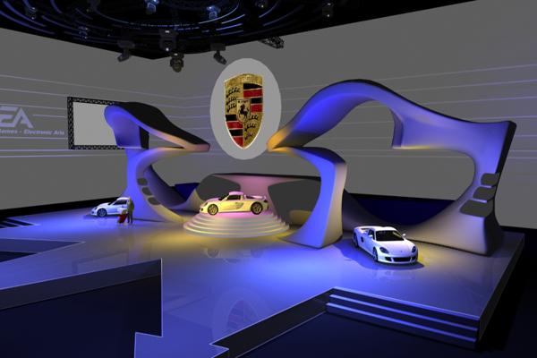 展台搭建设计经验分享-深圳展台搭建