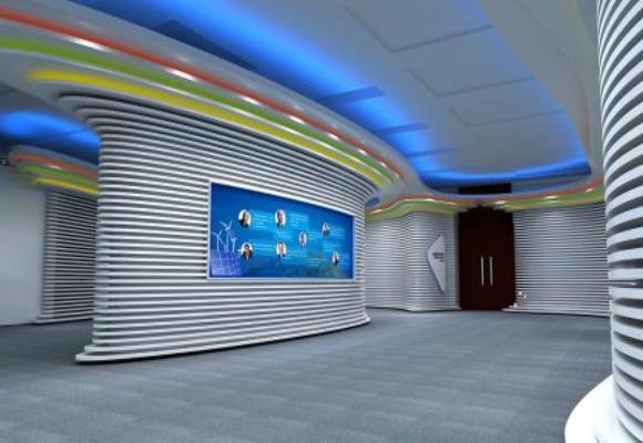 展厅中最重要的部分就是展台的基本造型,深圳展厅设计技巧