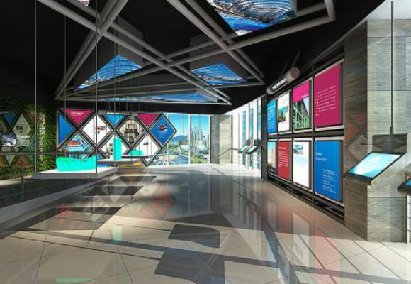 企业展厅设计更专注形象的发展设计