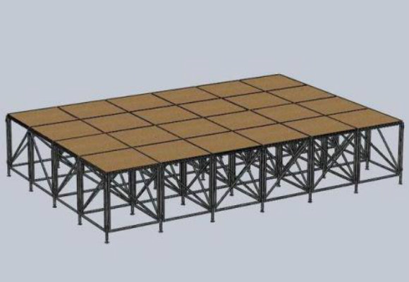 舞台桁架搭建中使用桁架中有怎样的特点