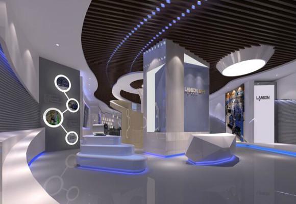 只有协调的设计才能体现一个设计的总体水平-深圳展厅设计