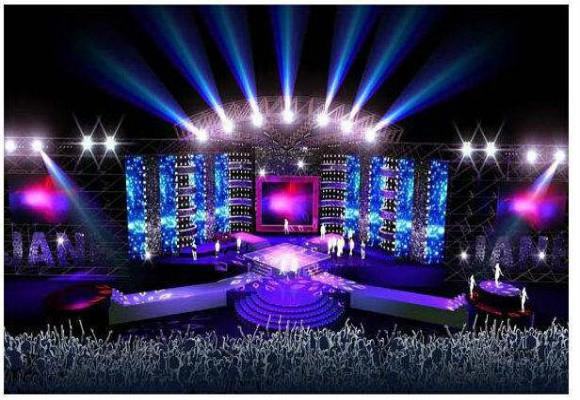 舞台搭建一般包括三个环节,下面分别介绍