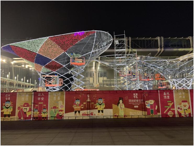 2019深圳迎春花市设计-深圳艺览天下展览展示