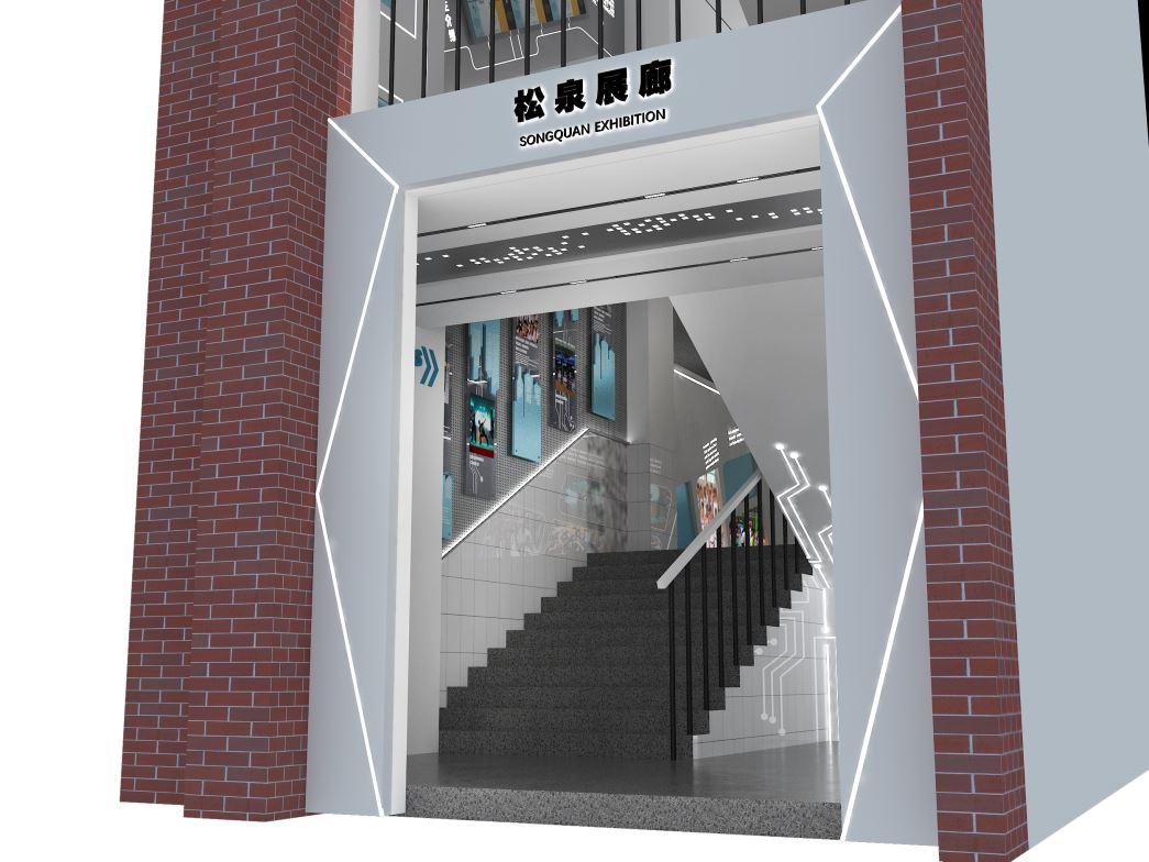 学校展廊设计施工完美落地
